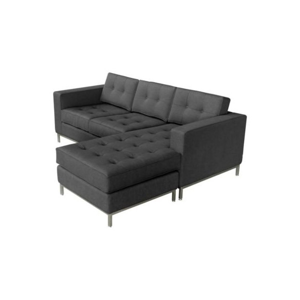 Jane Loft Bi-Sectional Sofa by Gus Modern