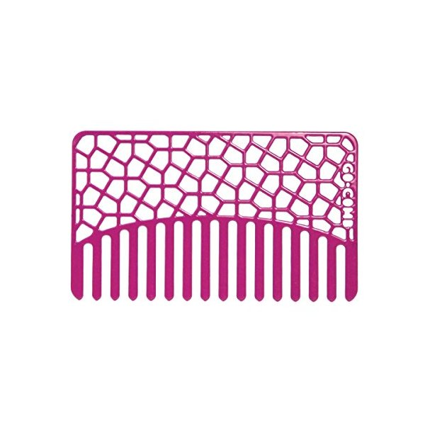 Magenta Tile Go-Comb - Wallet & Travel Hair Comb