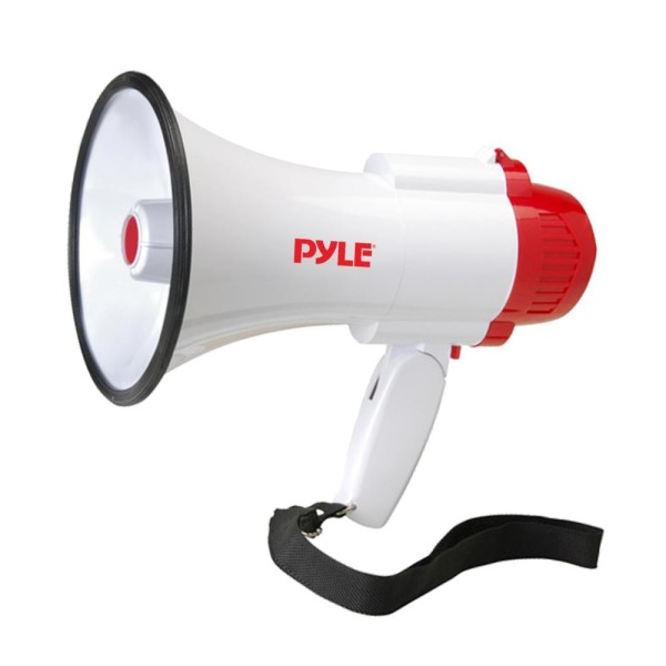 Pyle-Pro Professional Megaphone/Bullhorn with Siren and Voice Recorder