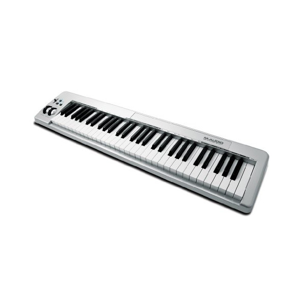 M-Audio Keystation 61ES 61-Key USB MIDI Keyboard Controller with Semi-Weighted Keys