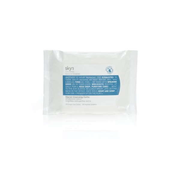 skyn ICELAND Glacial Cleansing Cloths ( 30 Count )