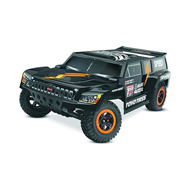 Traxxas 58044-1 Slash: 2WD Short Course Racing Truck - Robby Gordon Dakar Edition, Ready-To-Race (1/10 Scale), Colors May Vary