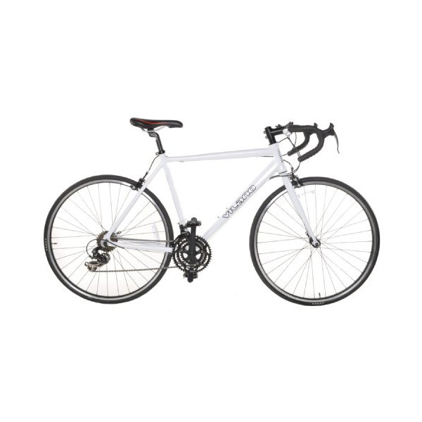 Vilano Aluminum Road Bike 21 Speed Shimano, White, 54cm Medium