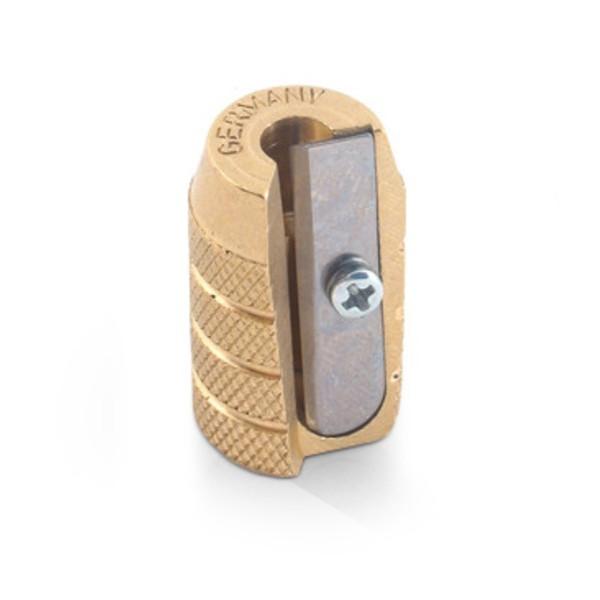 Alvin Brass Bullet Pencil Sharpener