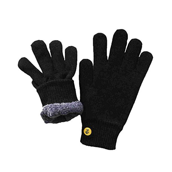 Glove.ly Cozy Gloves, Black, Small