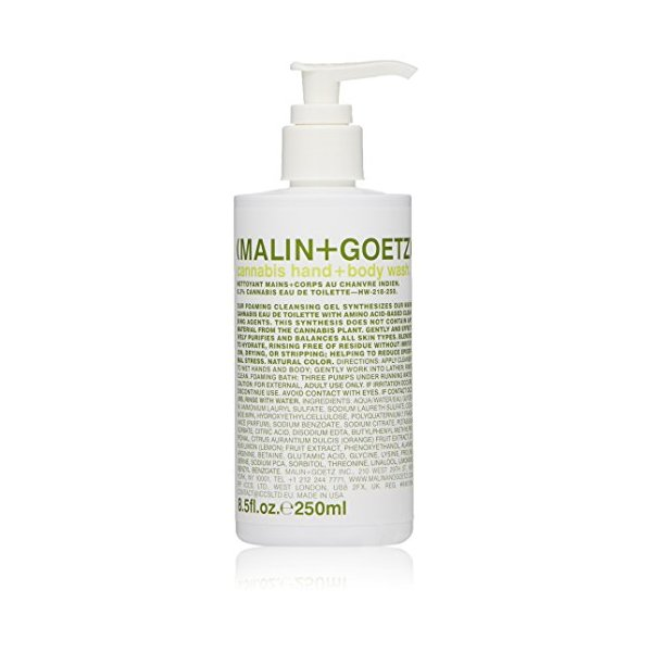 Malin + Goetz Hand + Body Wash, Cannabis, 8.5 Fl Oz
