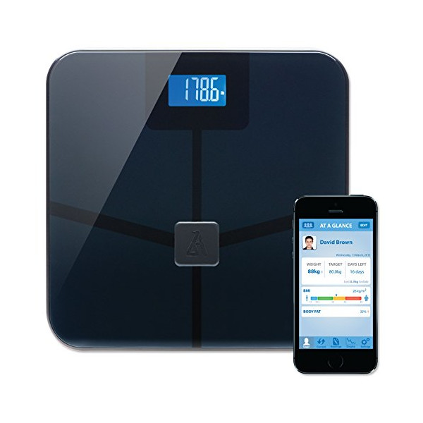 Wireless Smart Scale, Black