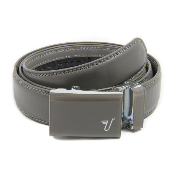 Mission Ratchet Belt, Battleship Gray Leather