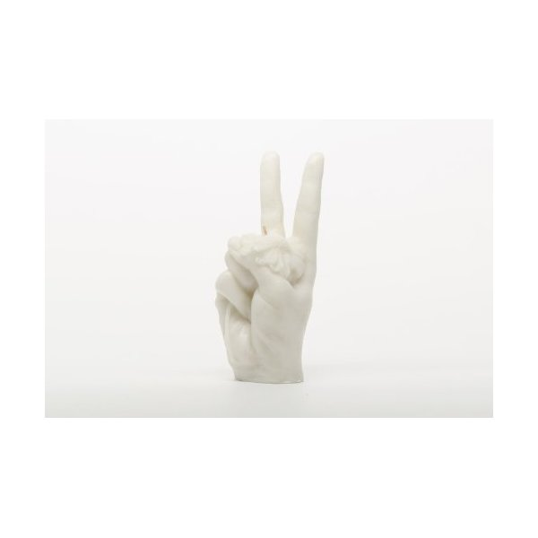 Insight Peace Sign Candle (More Colors)