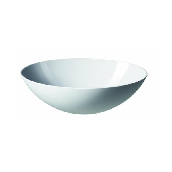 Krenit Melamine Salad Bowl, White
