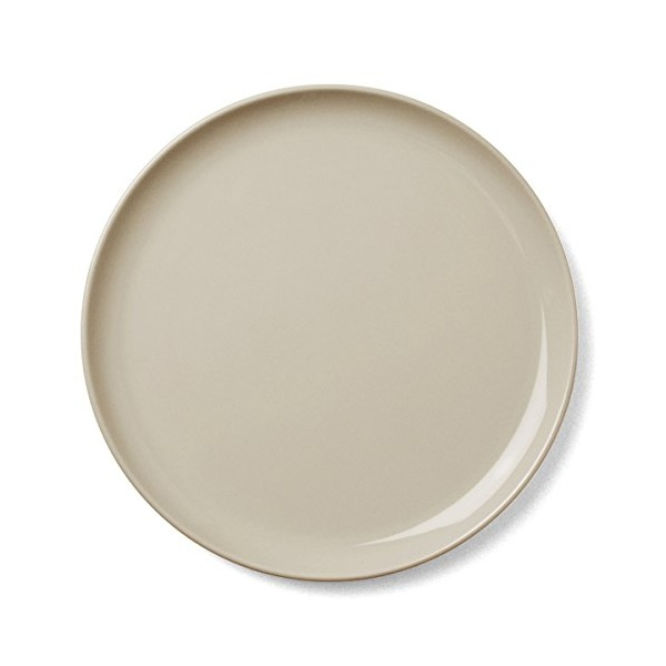 Meni New Norm Lunch Plate, 9-Inch, Latte