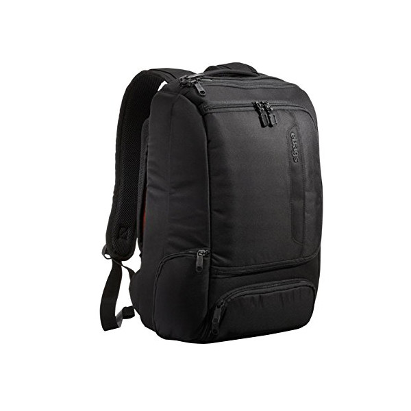 eBags TLS Professional Slim Laptop Backpack (Solid Black)