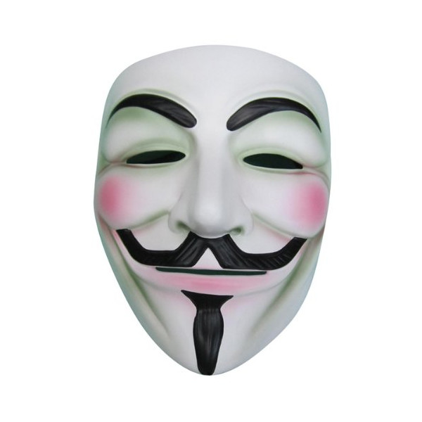 V for Vendetta Mask Resin White Masks