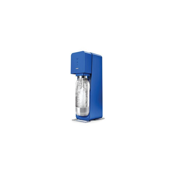 Sodastream SOURCE Metal Edition-BLUE-Starter Kit