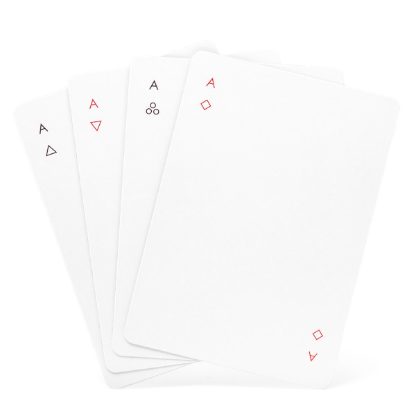 Joe Doucet Iota Minimalist Playing Cards