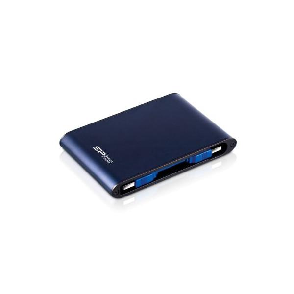Silicon Power Rugged Armor A80 1 TB 2.5-Inch USB 3.0 and USB 2.0 Military Grade Portable External Hard Drive SP010TBPHDA80S3B (Blue)