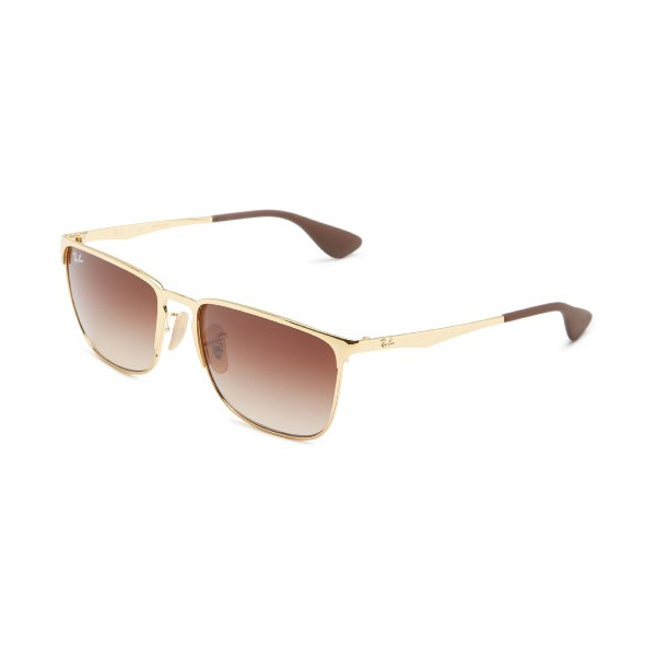 Ray-Ban womens 0RB3508 001/1356 Sqaure Sunglasses,Arista,56 mm