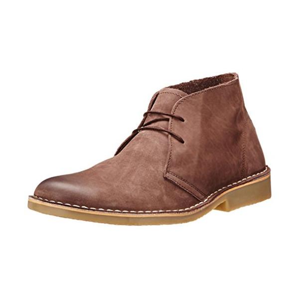 Steve Madden Men's Tristt Chukka Boot, Dark Brown, 11 M US