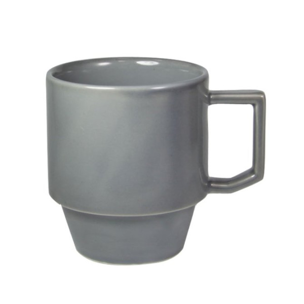 Hasami Blockmug, Grey