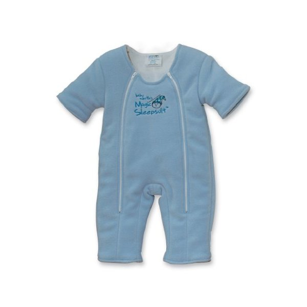 Baby Merlin's Magic Sleepsuit 3-6 months - Blue Microfleece