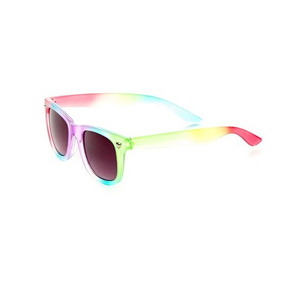 Claire's Accessories Girls Rainbow Frosted Sunglasses