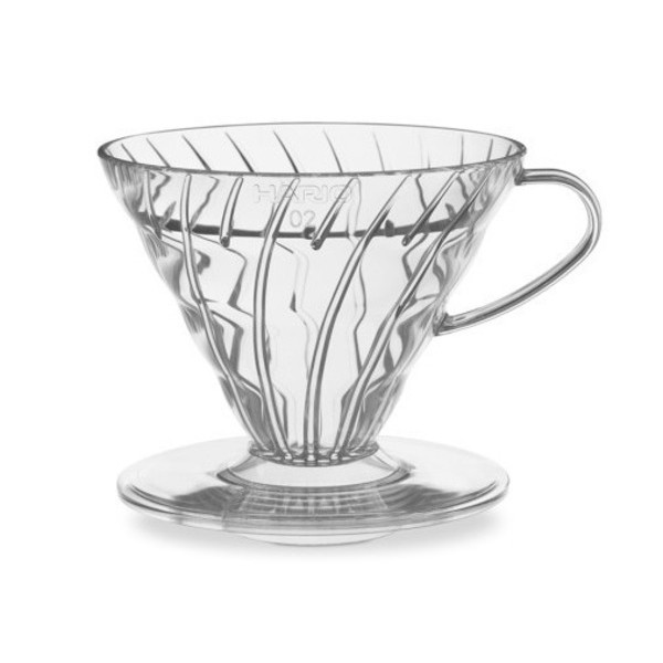 Hario V60 Clear 2 Cup Coffee Dripper