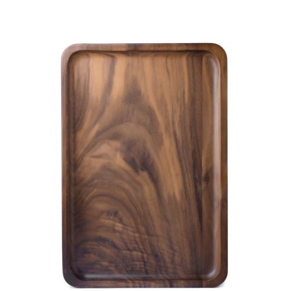 Bamber Wood Serving Trays, Black Walnut, Medium
