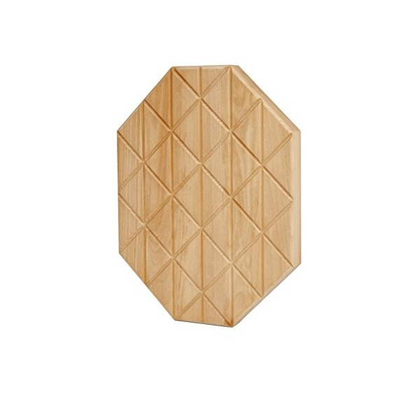 Areaware Grid Serving Plank, Medium, Brown