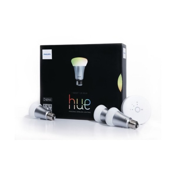 Philips 426353 Hue White and Color, Starter Kit, 1st Generation, Works with Echo
