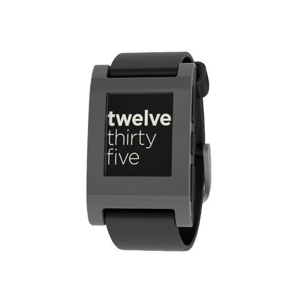 Pebble Smart Watch for iPhone and Android Devices(Grey)