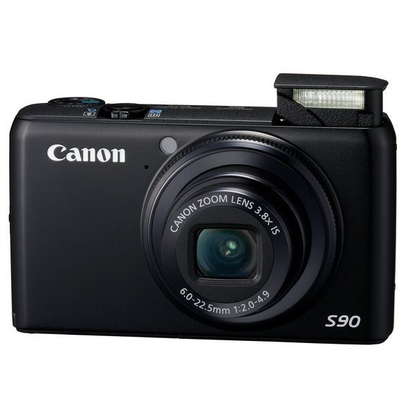 Canon PowerShot S90 10MP Digital Camera