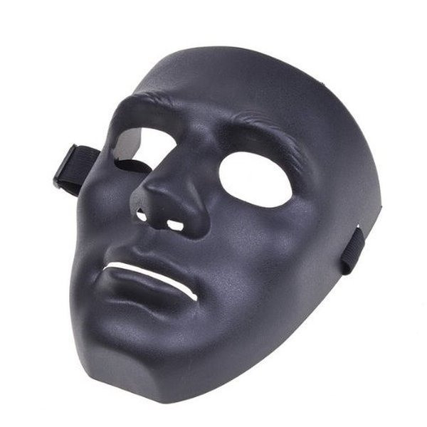 Full Face Hockey Type Black Sealth Mask