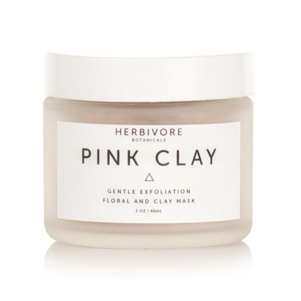 Herbivore Botanicals All Natural Pink Clay Exfoliating Facial Mask