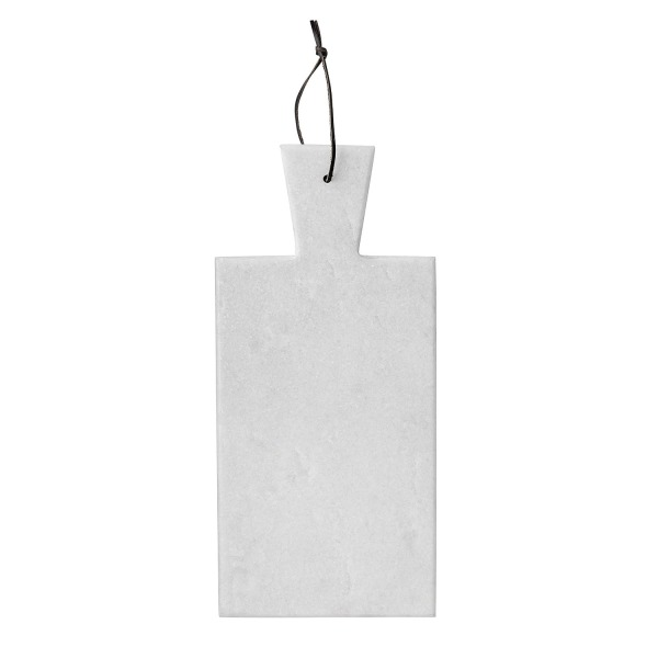 Bloomingville Marble Cutting Board with Strap, White