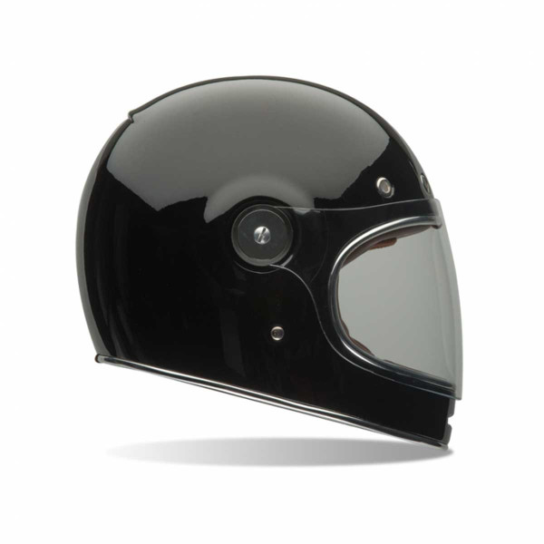 Bell Bullitt Motorcycle Helmet, Solid Gloss Black