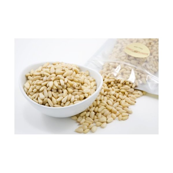 Superior Nuts Raw Pine Nuts (1 Pound) - Grade A