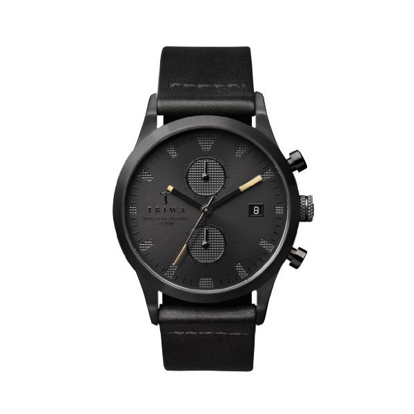 TRIWA Sort of Black Chrono