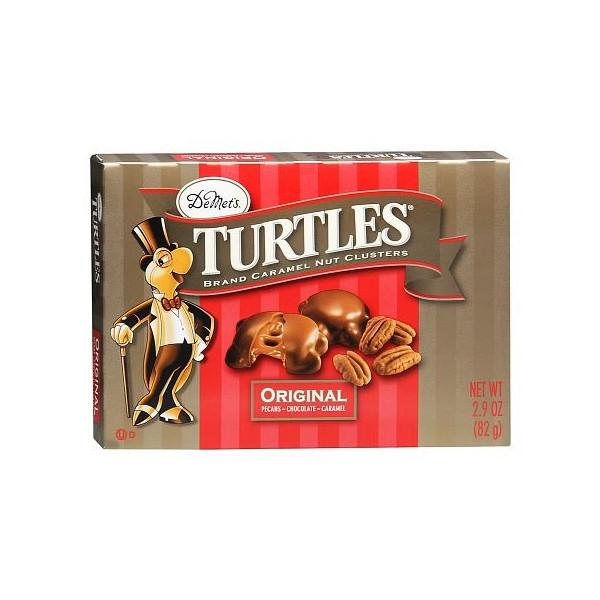 Demet's Turtles Brand Caramel Nut Clusters 2.9oz
