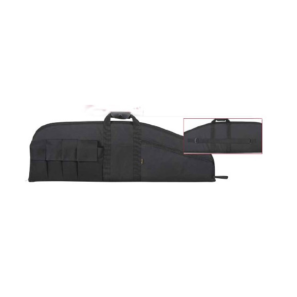 Allen Company Assault Rifle Case with Six Pockets (37-Inch)