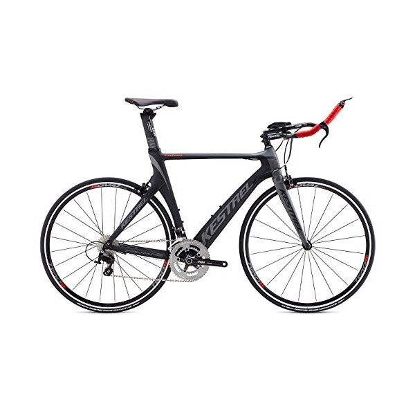 Kestrel Talon Tri Shimano 105 Bicycle, Gray/Red, 57cm/Large