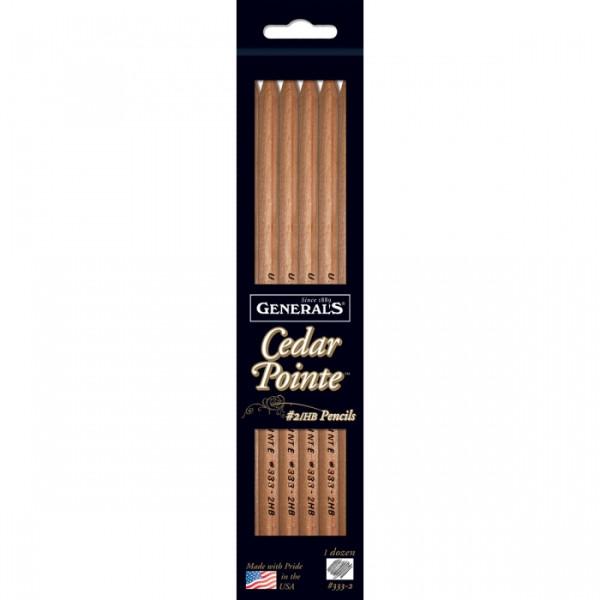 General Pencil Company Cedar Pointe No. 2 Pencil, 12 pack