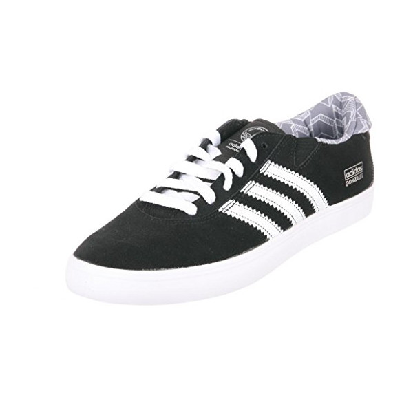 Adidas Gonz Pro - Black / White-Grey, 9 D US