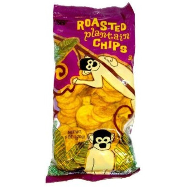 Trader Joe's Roasted Plantain Chips 6oz (Pack of 6)
