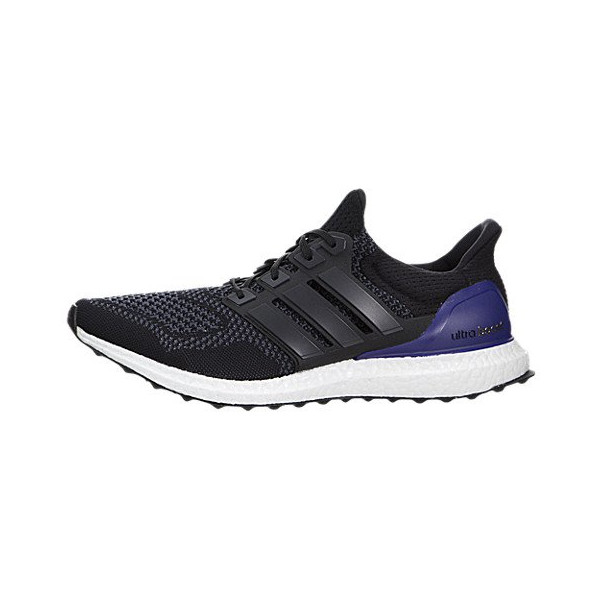 Adidas Men's Ultra Boost Black/Purple Running Shoe 9.5 Men US