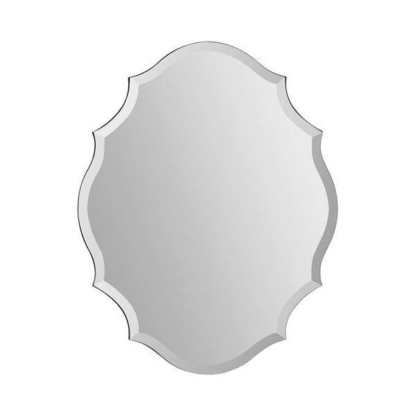 Ren-Wil MT1255 Emma Shaped Frameless Beveled Mirror