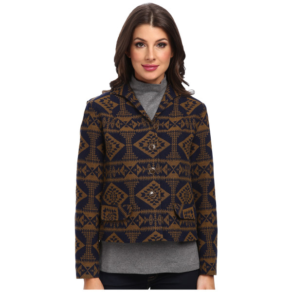 Pendleton Women's Plateau Jacket, Basket Makers Jacquard