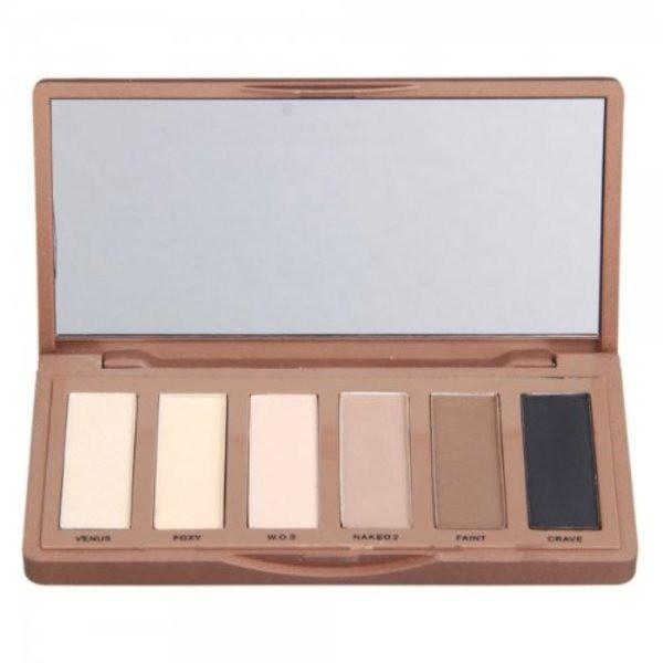 6 Dazzling Basics Colors Eyeshadow Makeup Palette Urban Naked Tones