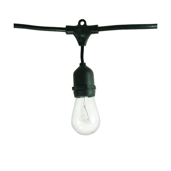 Bulbrite String15/E26-S14KT Outdoor String Light