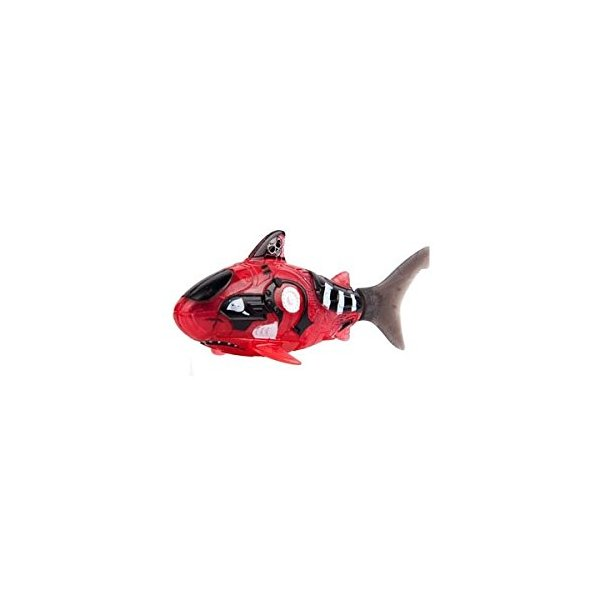 Zuru Robo Fish Pirate - Water Activated Battery Powered Bath Toy ZURU Red Shark