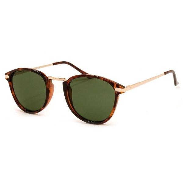 A.J. Morgan Castro Round Sunglasses, Tortoise